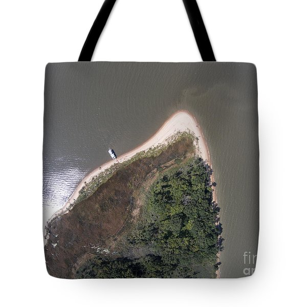 Hart Miller Island Tote Bag by Tony Cooper