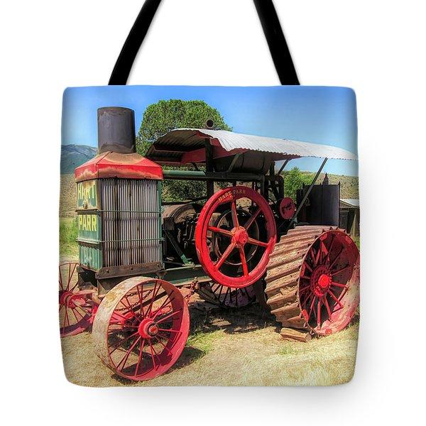 Hart Parr 1911 30 60 Tractor Tote Bag