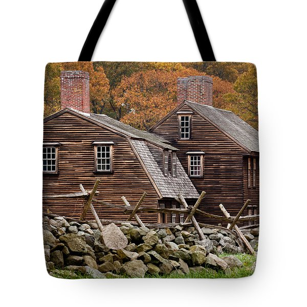Hartwell Tarvern In Autumn Tote Bag