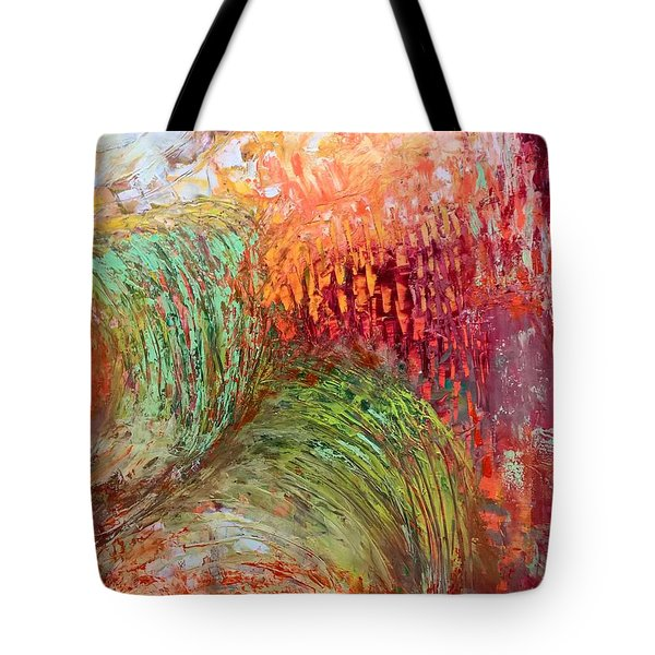 Harvest Abstract Tote Bag