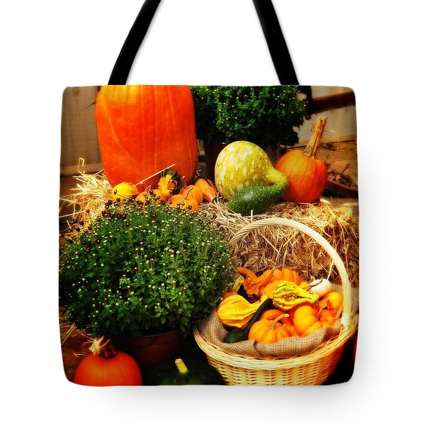 Harvest Tote Bag by Bill Cannon