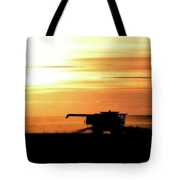 Harvest Burn Tote Bag