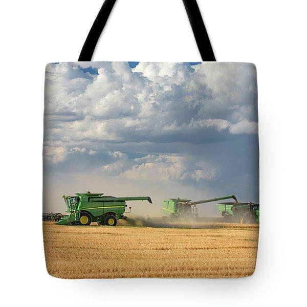 Harvest Clouds Tote Bag