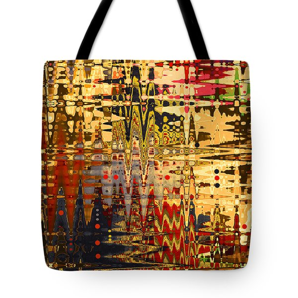 Harvest Dawn Tote Bag by Diane E Berry