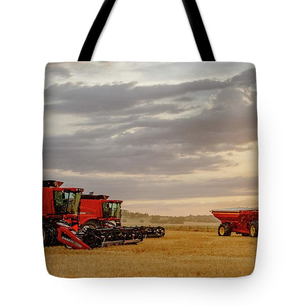 Tote Bag featuring the photograph Harvest Delayed by Rob Graham