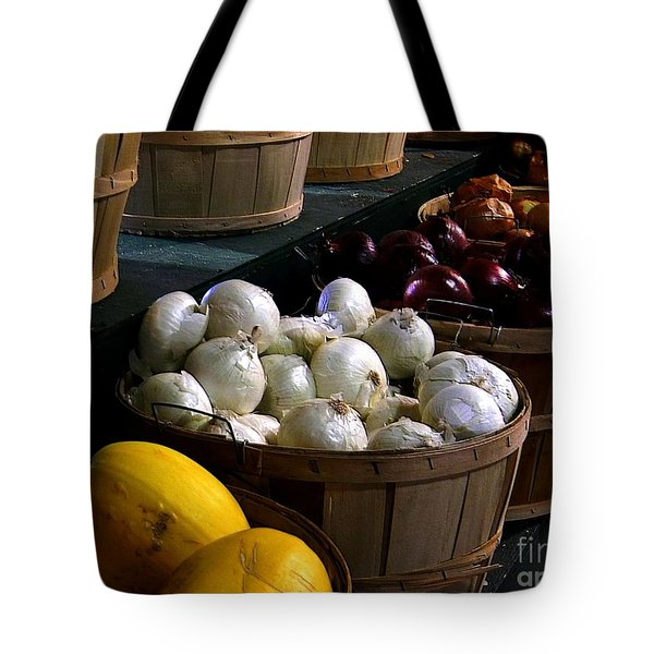 Tote Bag featuring the photograph Harvest by Elfriede Fulda