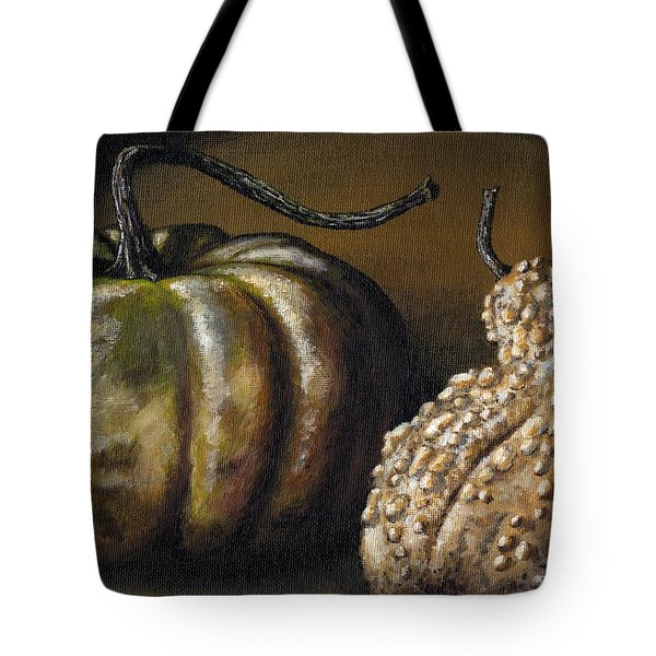 Harvest Gourds Tote Bag by Adam Zebediah Joseph