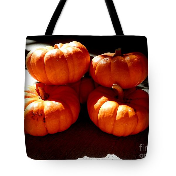 Harvest Huddle Tote Bag