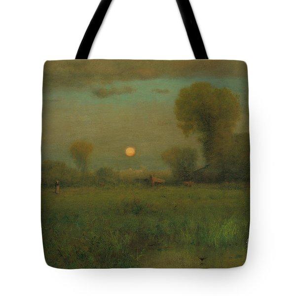 Harvest Moon, 1891 Tote Bag