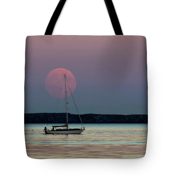 Harvest Moon - 365-193 Tote Bag