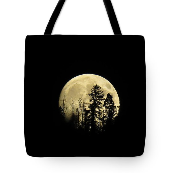 Harvest Moon Tote Bag by Karen Shackles
