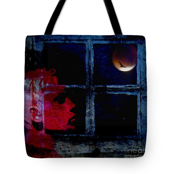 Tote Bag featuring the photograph Harvest Moon by LemonArt Photography
