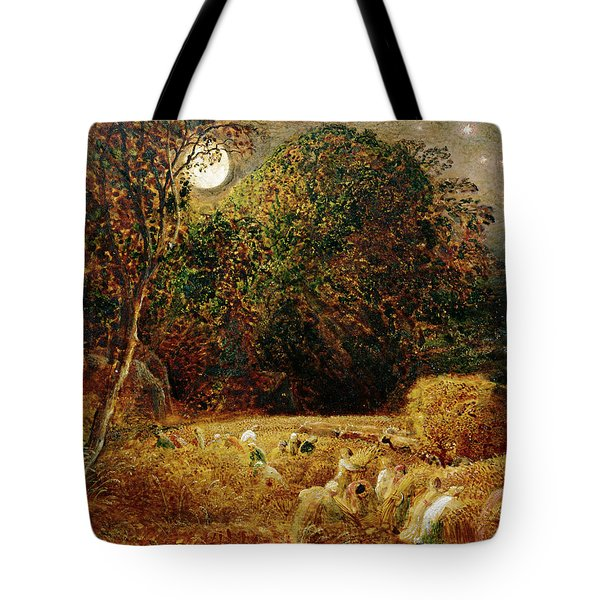 Harvest Moon Tote Bag by Samuel Palmer