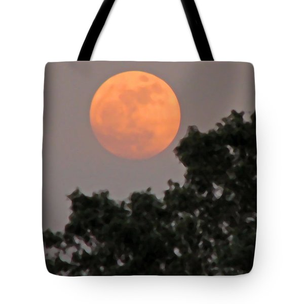 Harvest Moonrise Tote Bag