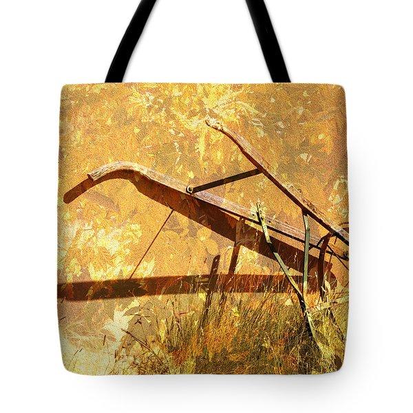Harvest Plow Tote Bag