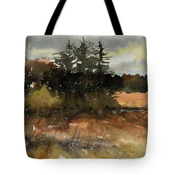 Harvest Snow Tote Bag