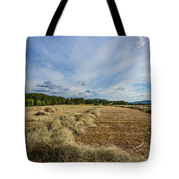 Tote Bag featuring the photograph Harvest by Susi Stroud