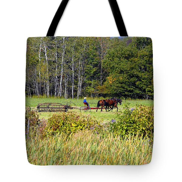 Harvest Time Tote Bag by David Lee Thompson