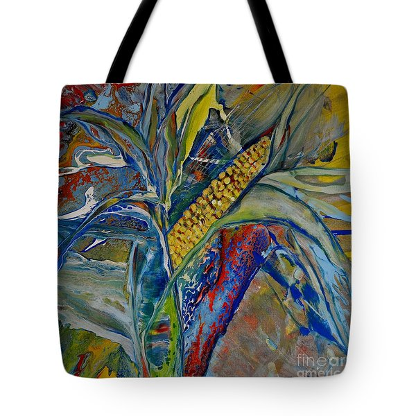 Tote Bag featuring the painting Harvest Time by Deborah Nell