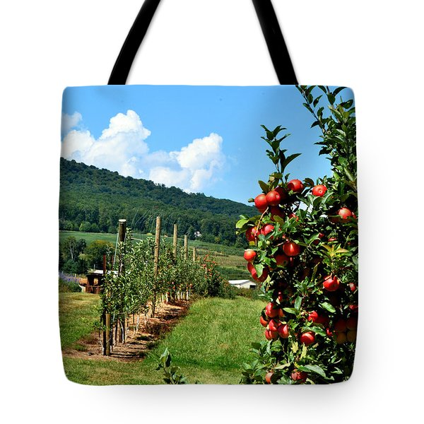 Harvest Time In The Catoctin Mountains Tote Bag