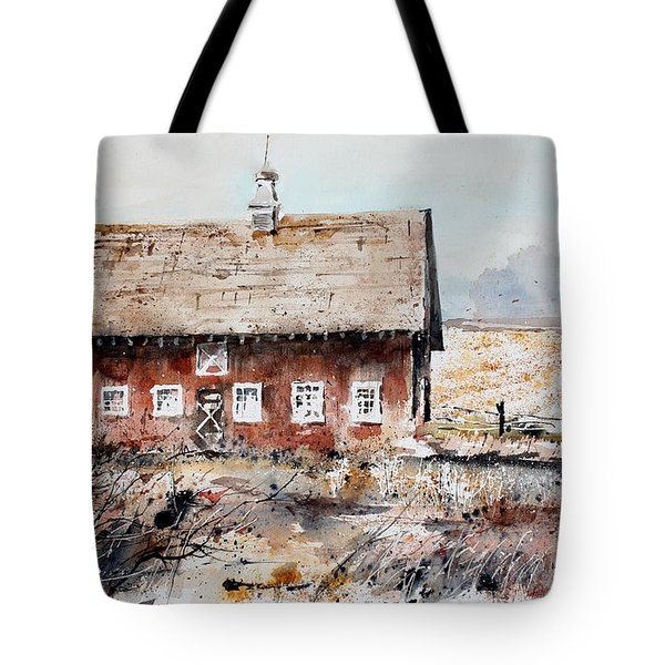 Harvested Fields Tote Bag by Monte Toon