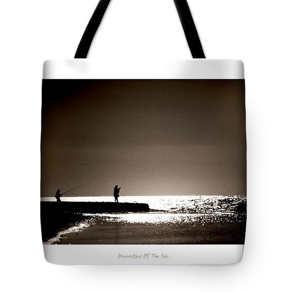 Harvester Of The Sea Tote Bag