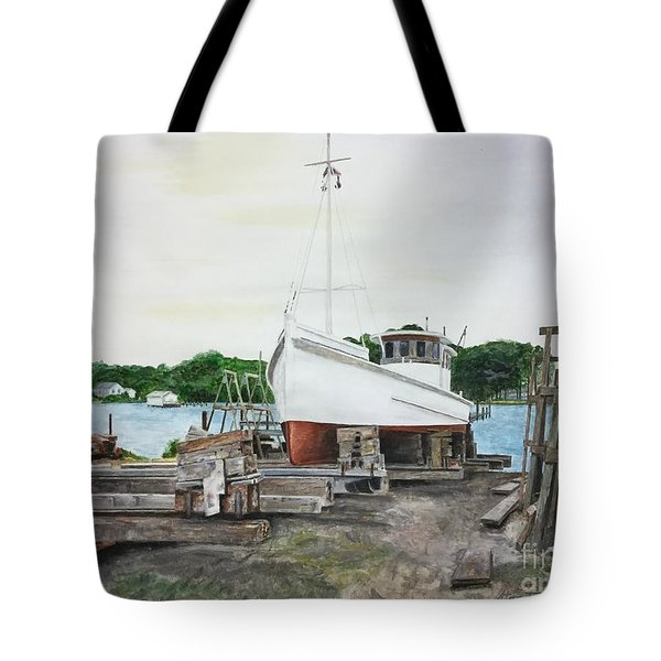 Harvey A. Drewer Tote Bag