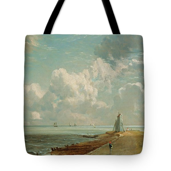 Harwich - The Low Lighthouse And Beacon Hill Tote Bag