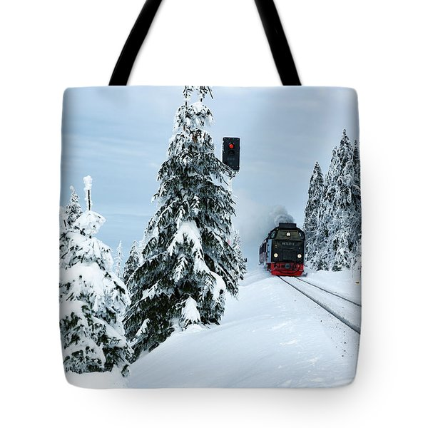Harz Ballooning And Brocken Railway Tote Bag