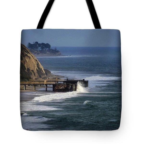 Haskells Beach  Tote Bag