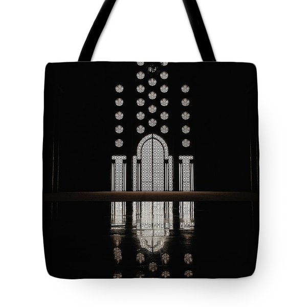 Hassan II Mosque Tote Bag