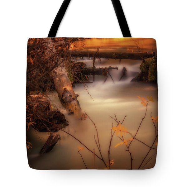 Hat Creek In Gold Tote Bag