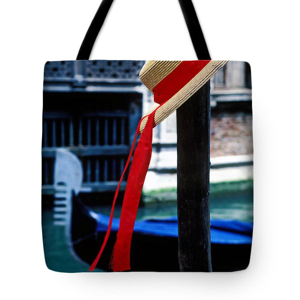 Hat On Pole Venice Tote Bag by Garry Gay
