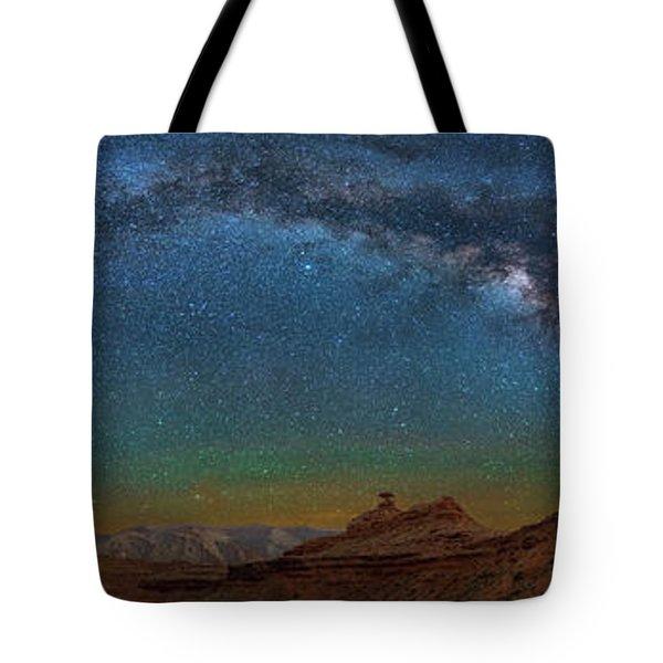 Hat Rock Milky Way Tote Bag