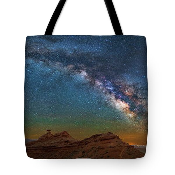 Hat Rock Milky Way Tote Bag