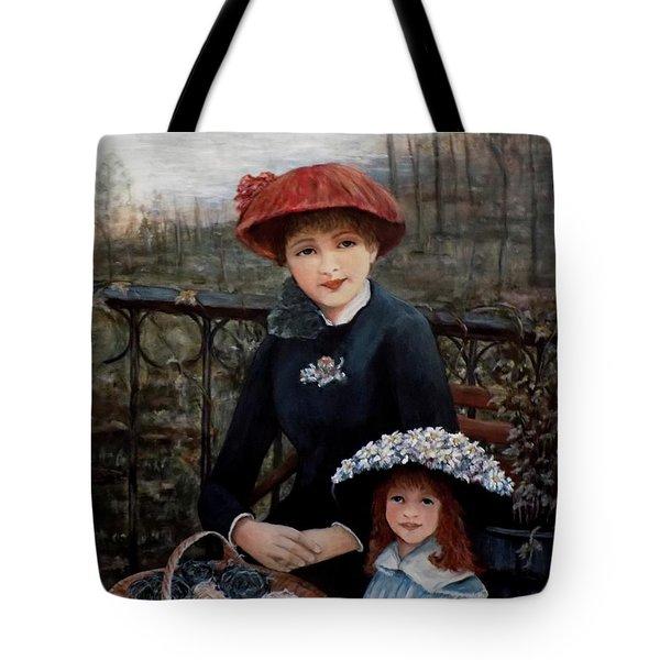 Hat Sense Tote Bag by Judy Kirouac