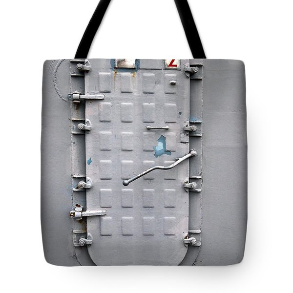 Hatch Secured Tote Bag by Christopher Holmes