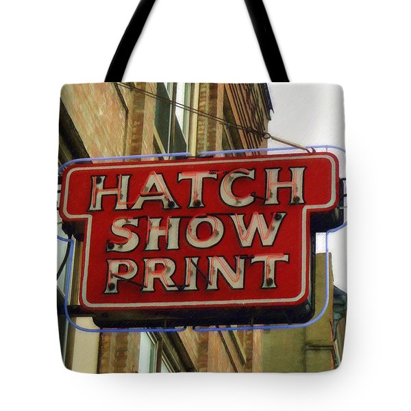 Hatch Show Print Tote Bag