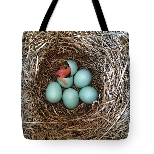 Hatched Tote Bag