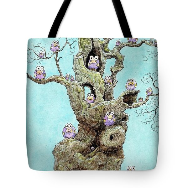 Hatchlings Tote Bag by Charles Cater