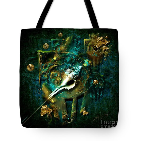Tote Bag featuring the painting Hatpin by Alexa Szlavics