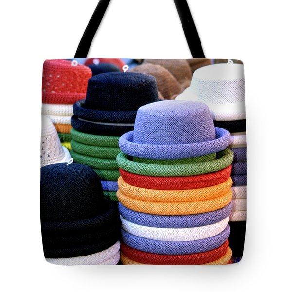 Hats, Aix En Provence Tote Bag