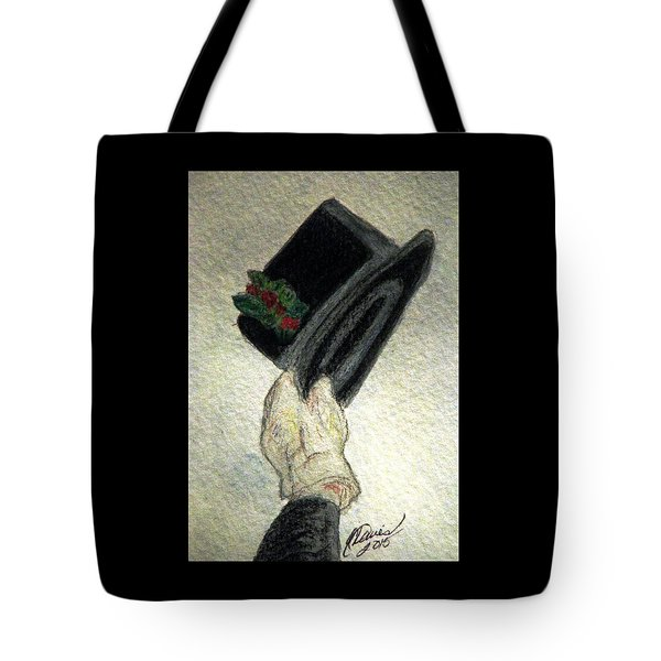 Hats Off To The Holidays Tote Bag