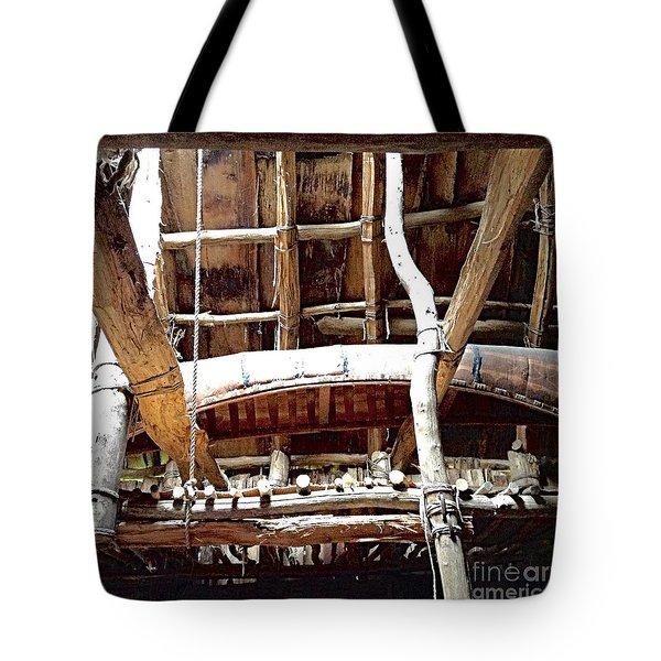 Haudenosaunee Longhouse  Tote Bag