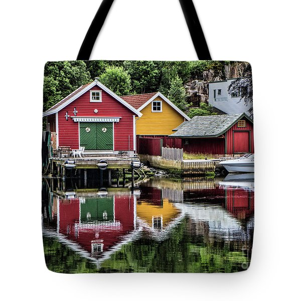 Haugesund Reflections Tote Bag