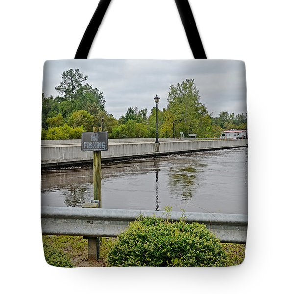 Haunted By The Waters Tote Bag