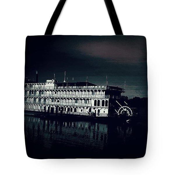 Haunted Dinner Cruise On The Columbia River  Tote Bag