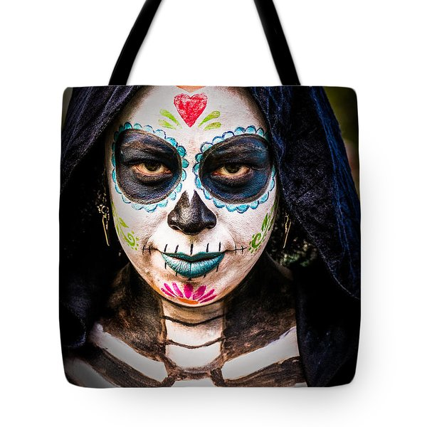 Haunted Eyes Tote Bag