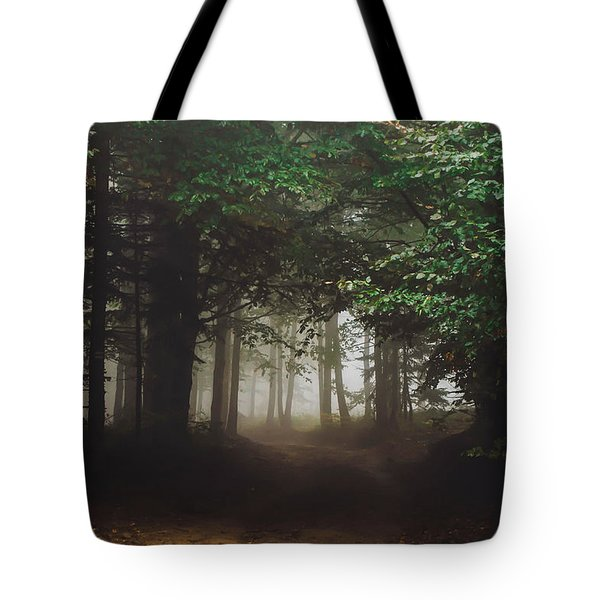 Haunted Forest #2 Tote Bag