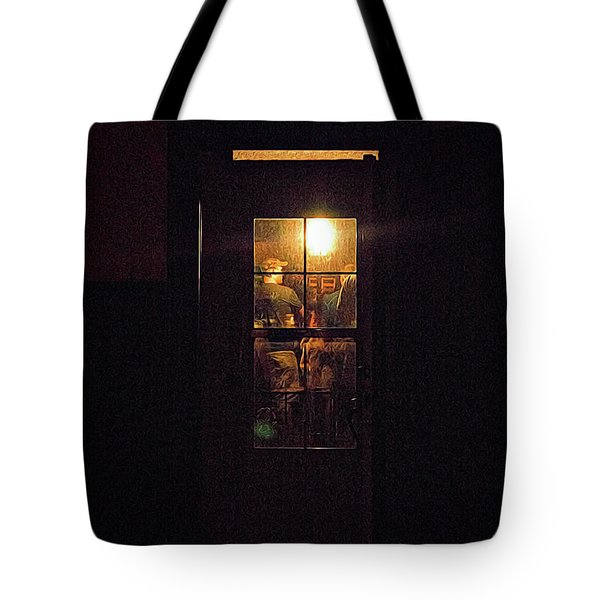 Haunted House 4 Tote Bag by William Horden